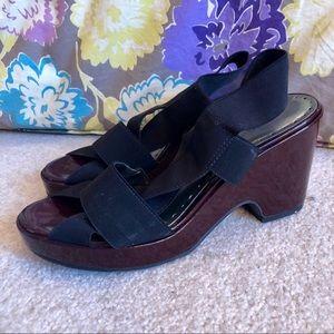 Black BCBGirls Platform Sandal - size 7.5